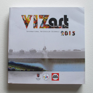 VIZart International Watercolor Biennale. Tirana, Albania. 2015.