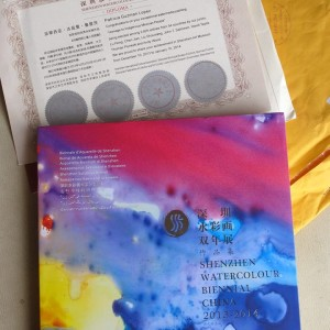 Shenzhen International Watercolour Biennale Catalog. 2013.