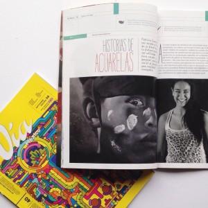 Vía México. Historias de Acuarelas. Año 1. Edición 08. Septiembre 2015. http://viamexico.mx/nota.php?recordID=240/arteydiseno/Historias_de_acuarelas