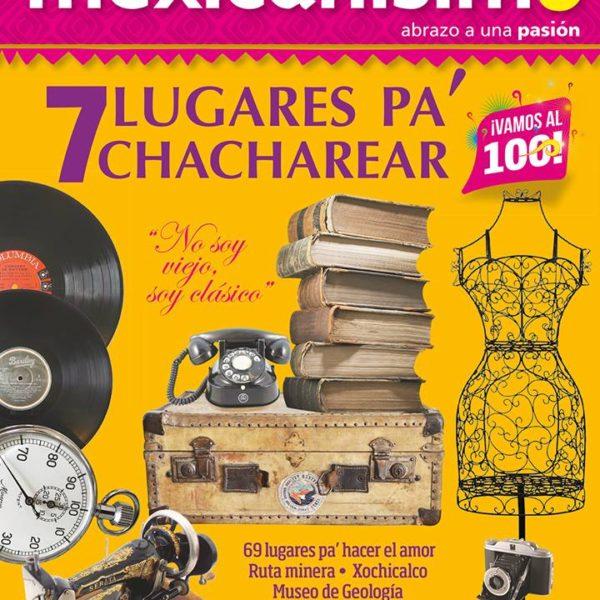 """Revista Mexicanísimo. """"Patricia Guzmán, Rostros de Acuarela"""". Luis Jorge Arnau Ávila. No. 99 Ejemplar de Colección. 2016."""