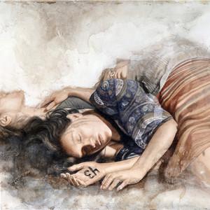 "43. Acuarela · Watercolor.  56 x 76 cms / 21"" x 28"""