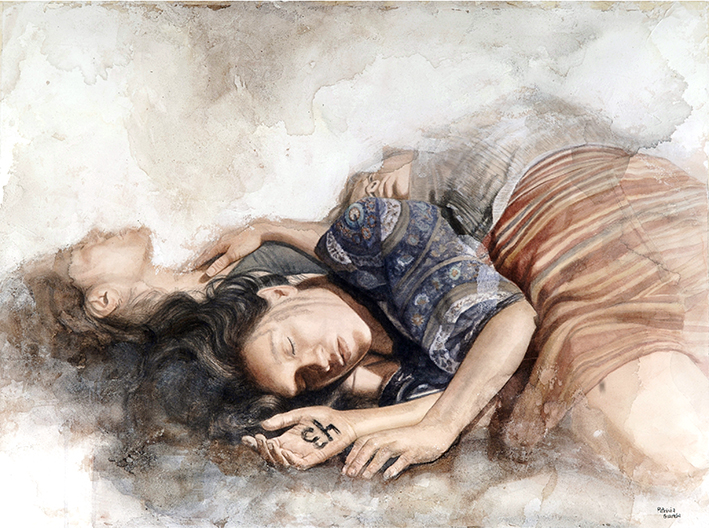 Watercolor paintings by Patricia Guzman