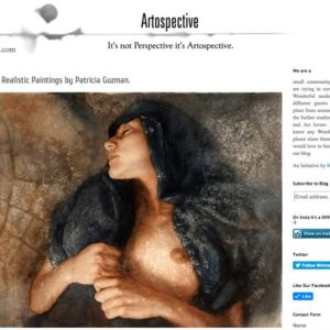 Figurative, Realistic Paintings by Patricia Guzman. Manav Singhi. https://artospective.blogspot.mx/2017/08/figurative-realistic-paintings-patricia-guzman.html