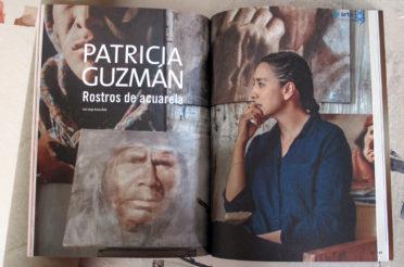 Patricia Guzmán, Rostros de Acuarela. Revista Mexicanísimo