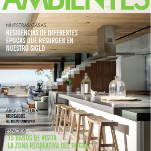 "Revista Ambientes. Sección ""Abran Paso ... Artistas Emergentes"" (Make room... Emerging Artists section). Año 13, número 89. 2015."
