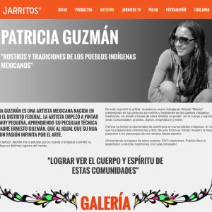 Patricia Guzmán : Rostros y Tradiciones de los Pueblos Indígenas Mexicanos. Mezclando Tradiciones. Jarritos. http://www.jarritos.com.mx/artista/63