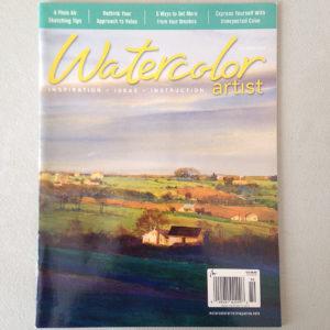 "Watercolor Artist Magazine. ""Painting Diaspora"". Michael Gormley. 10 page article. October, 2016."