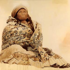 """Mukí iuma (Mujer guía · Guidance woman). Acrílico.  120 x 80 cms / 47"""" x 32"""""""