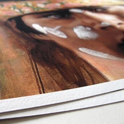 Purificación Giclée Print