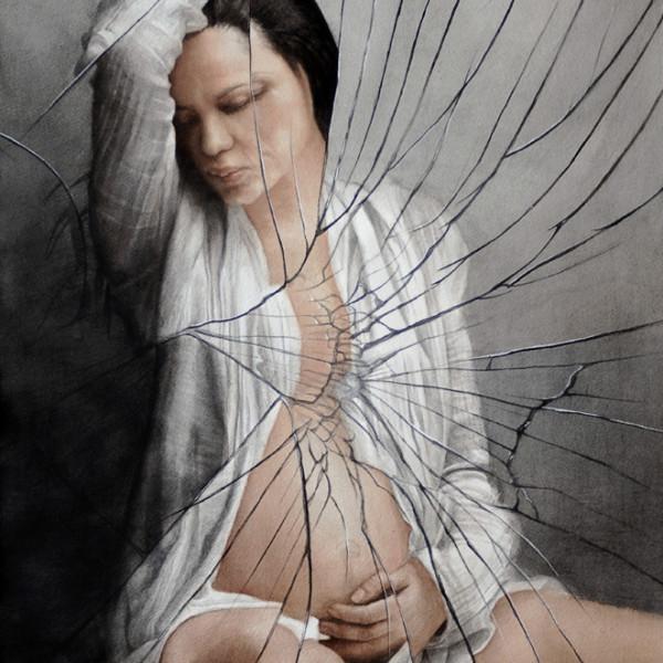 "Rebirth · Renacer. Acuarela · Watercolor. 76 x 56 cms / 28"" x 21"""