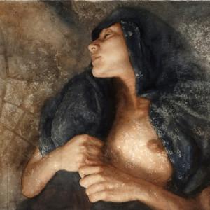 """Sueño de Nahla. Acuarela · Watercolor. 56 x 76 cms / 21"""" x 28"""""""