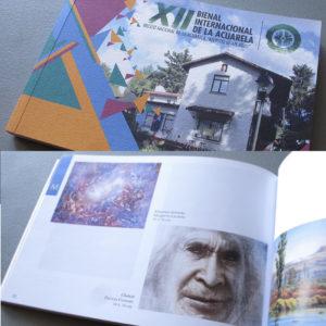 "Catálogo de la XII Bienal Internacional de la Acuarela Museo Nacional de la Acuarela ""Alfredo Guati Rojo"". 2016 - 2017."