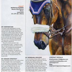 International Artist Magazine. Art Prize Challenge no. 52. Issue 68. 2009.