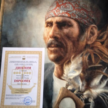 First Degree at the III Art-Bridge-Watercolor International Competition 2015