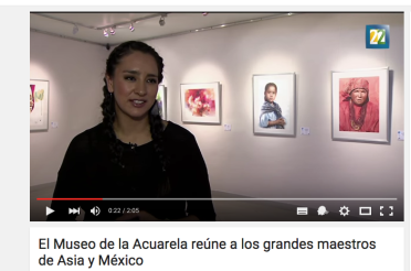 Encuentro Internacional de Acuarela Asia – México, Grandes Maestros