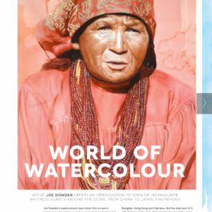 Artists and Illustrators Magazine. World of Watercolour. Joe Dowden. September 2016. https://gb.zinio.com/www/browse/issue.jsp?skuId=416387296&offerId=500369221&subscription=true#/