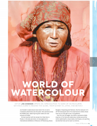 Artists and Illustrators Magazine Article
