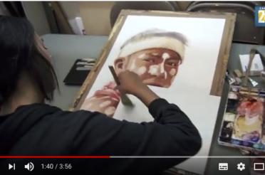 El arte de la acuarela de Patricia Guzmán